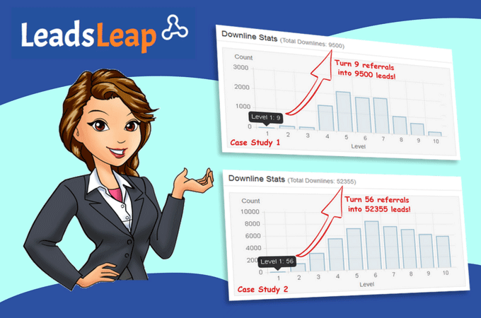 leadsleap link tracker