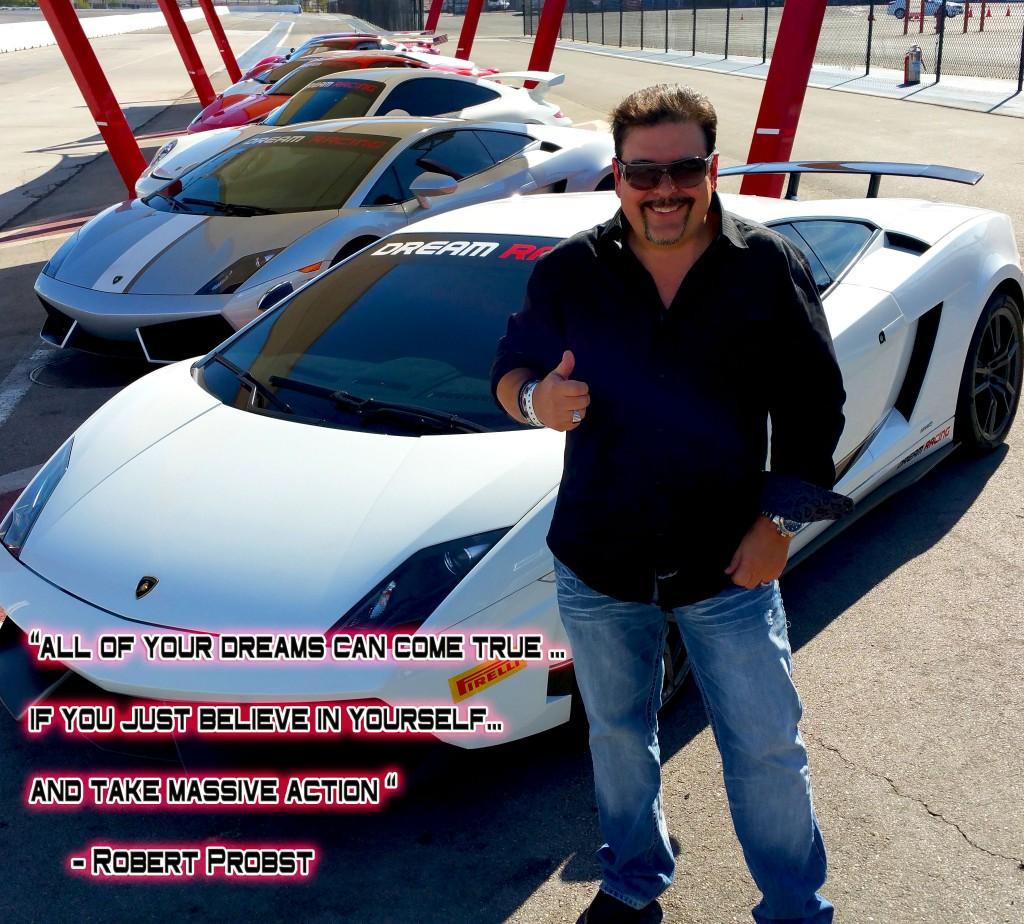 Robert Probst at Dream Racing School