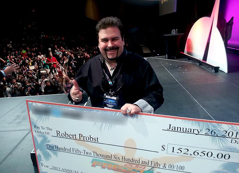 Robert Probst on Stage