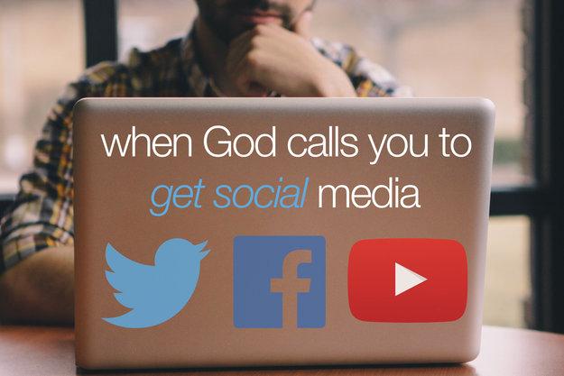 social media for god